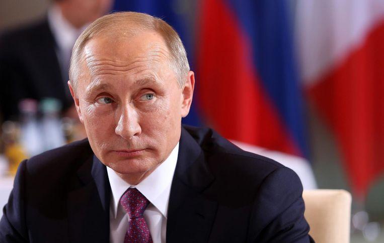 Vladimir Poetin. Beeld Getty Images