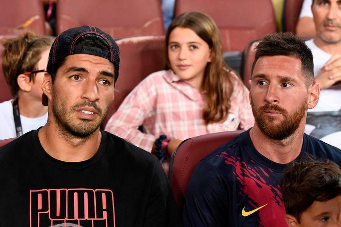 Suarez en Messi.