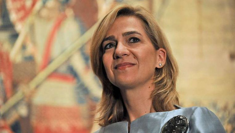 De Spaanse prinses Cristina Beeld afp
