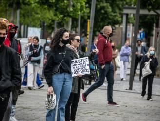 Collecti.e.f 8 maars voert actie op Kolonel Dusartplein tijdens Internationale Vrouwendag