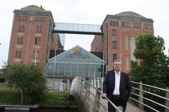 Peter Bonamie, projectontwikkelaar bij Neoporojets, voor de Bloemmolens.