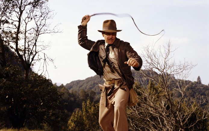 Harrison Ford als Indiana Jones, hier in 'Indiana Jones and the Last Crusade'