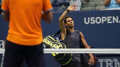 Nadal geeft forfait voor halve finale Davis Cup - Kimmer Coppejans pakt toernooizege in Sevilla