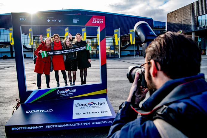 De eerste kaarten voor het Eurovisie Songfestival waren binnen het uur uitverkocht.
