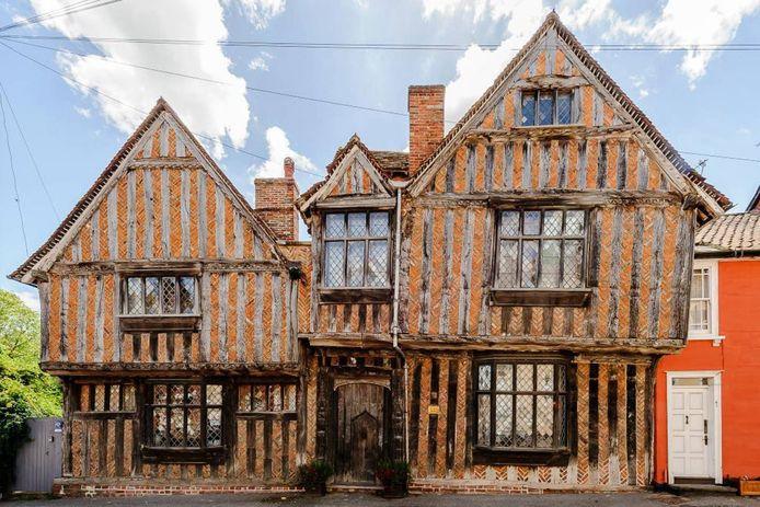 De Vere House in Lavenham, ook wel het huis waar Harry Potter opgroeide in Goderics Eind