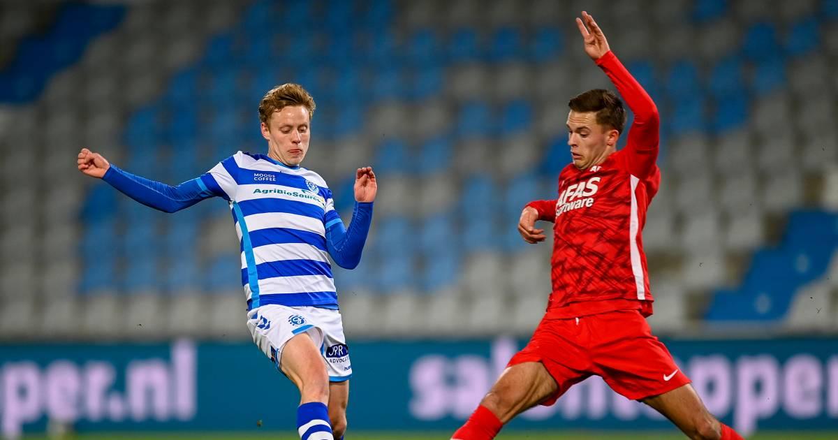De Graafschap-trainer Snoei hoopt op juiste antwoord Dekker na pijnlijke wissel: 'Rick mag best even teleurgesteld zijn' - De Gelderlander