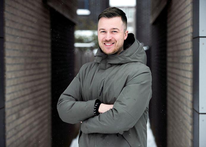 Nils Peters, de nieuwe trainer van SCH'44