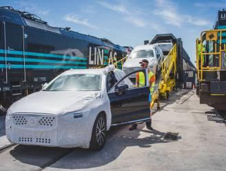 """Gentse Volvo's gaan voortaan met de trein naar China: """"Volgen oude zijderoute langswaar eeuwenlang handel is gedreven"""""""