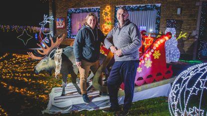 Groter kersthuis vraagt meer versiering: van 75.000 naar 100.000 lichtjes