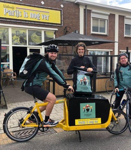 Vrachtfietsen om trucks en busjes in Doetinchems centrum te vervangen