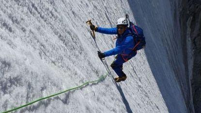 Spot en hoon voor Franse politicus die een wel heel steile gletsjer lijkt af te dalen tijdens zijn vakantie