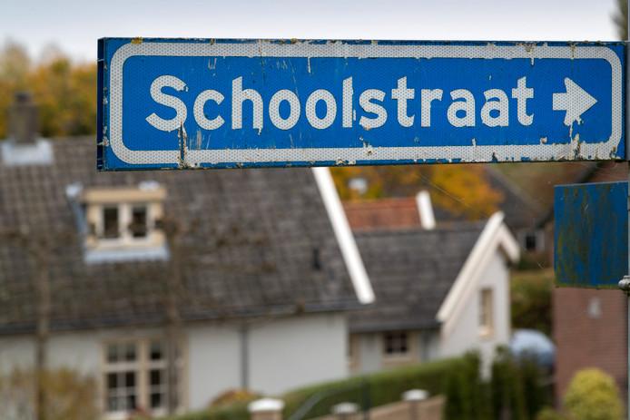Nederland,  Gameren, de Schoolstraat tussen nummer 40 en 50