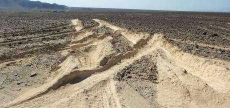 Vrachtwagen beschadigt 2000 jaar oud werelderfgoed in Peru