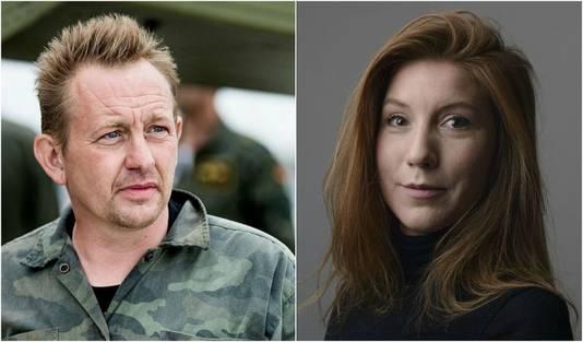 Peter Madsen et Kim Wall