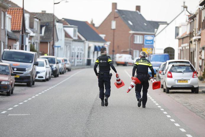 Politie onderzoekt melding schietincident in Oudenbosch.