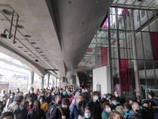 Overvloed aan Belgische treinpassagiers naar kust, drukteplan in werking