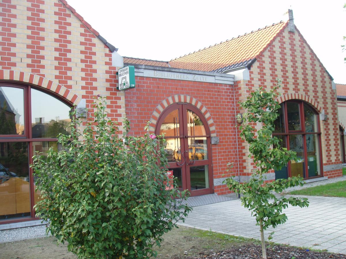De bibliotheek van Zulte.