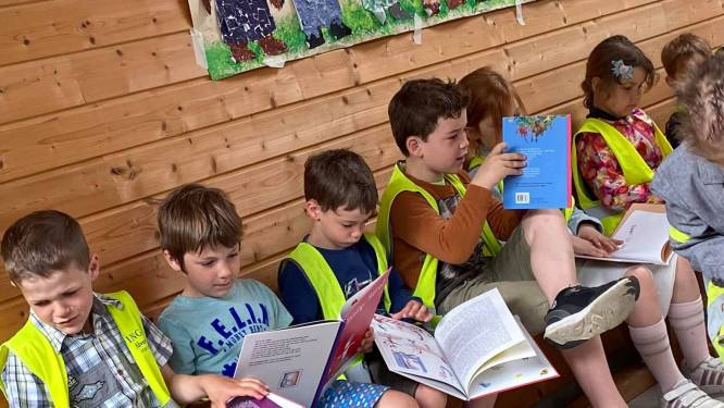 IN BEELD - Basisschool De Libel maakt van lezen één groot feest