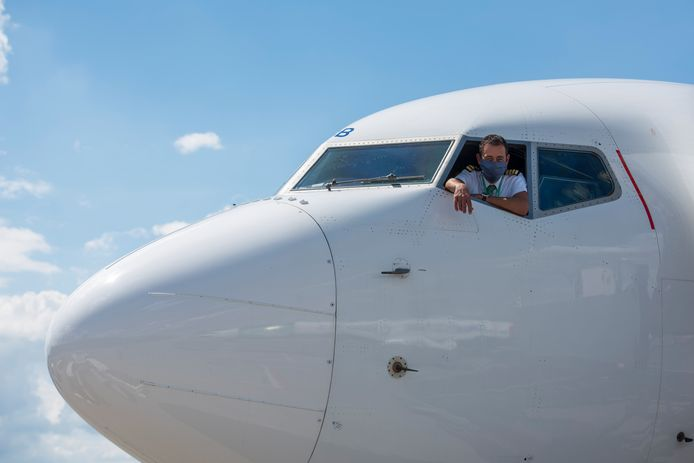 "Captain Rieno Janssen: ,,Lekker om weer te beginnen. Ik heb er zin in."" Foto Jean Pierre Reijnen/DCI Media"