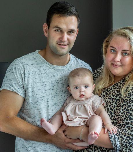 Ouders baby Maud in doodsangst: 'Was heel bang om haar ook te verliezen'