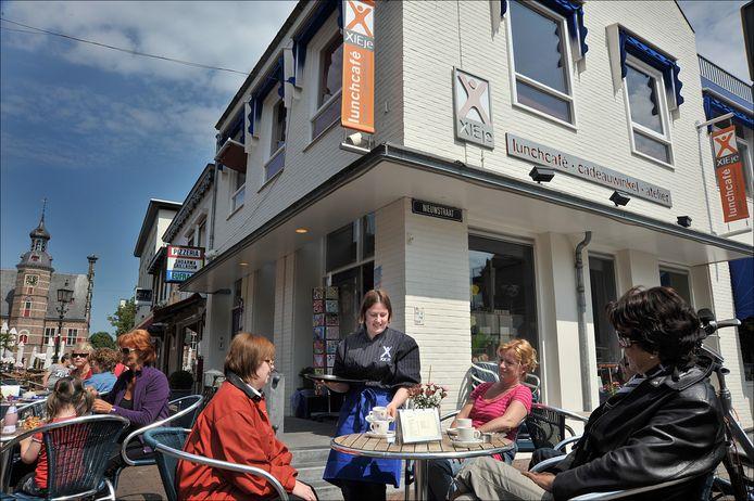 Xieje in de Zandstraat, in 2010.