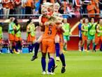 De mooiste foto's van het openingsduel tussen Oranje en Noorwegen