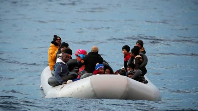 Migranten mogen van Erdogan niet langer Egeïsche Zee oversteken richting Griekse eilanden