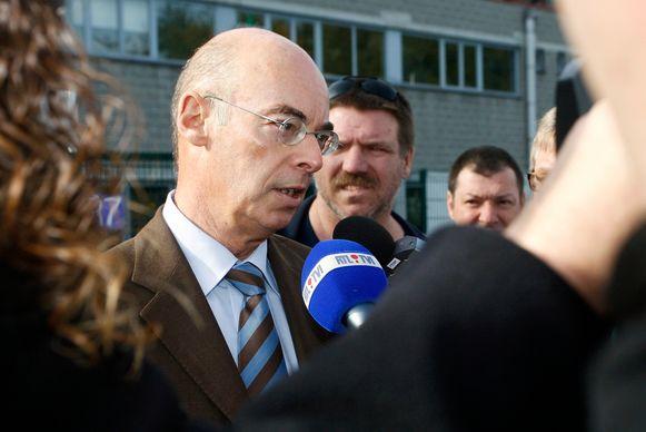 Moeskroen-voorzitter Edward Van Daele.