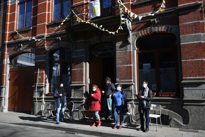 In de J.P. Minckelersstraat werd actie gevoerd voor een leefbare buurt.
