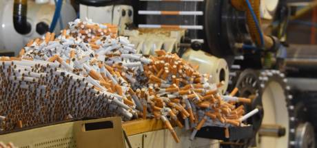 Opslag voor miljoenenhandel met illegale sigaretten zat in oude champignonkwekerij Heumen