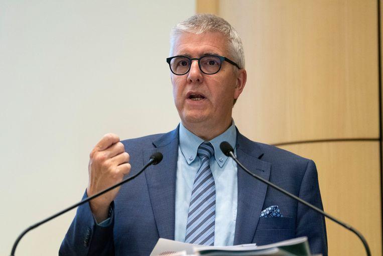 Pieter Timmermans, voorzitter van werkgeversorganisatie VBO: 'De wil om up-to-date te blijven, zit ingebakken bij jongeren.'  Beeld Photo News