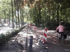 Verlichting aan de Tilburgeseweg weer kapot, nu aan de andere kant