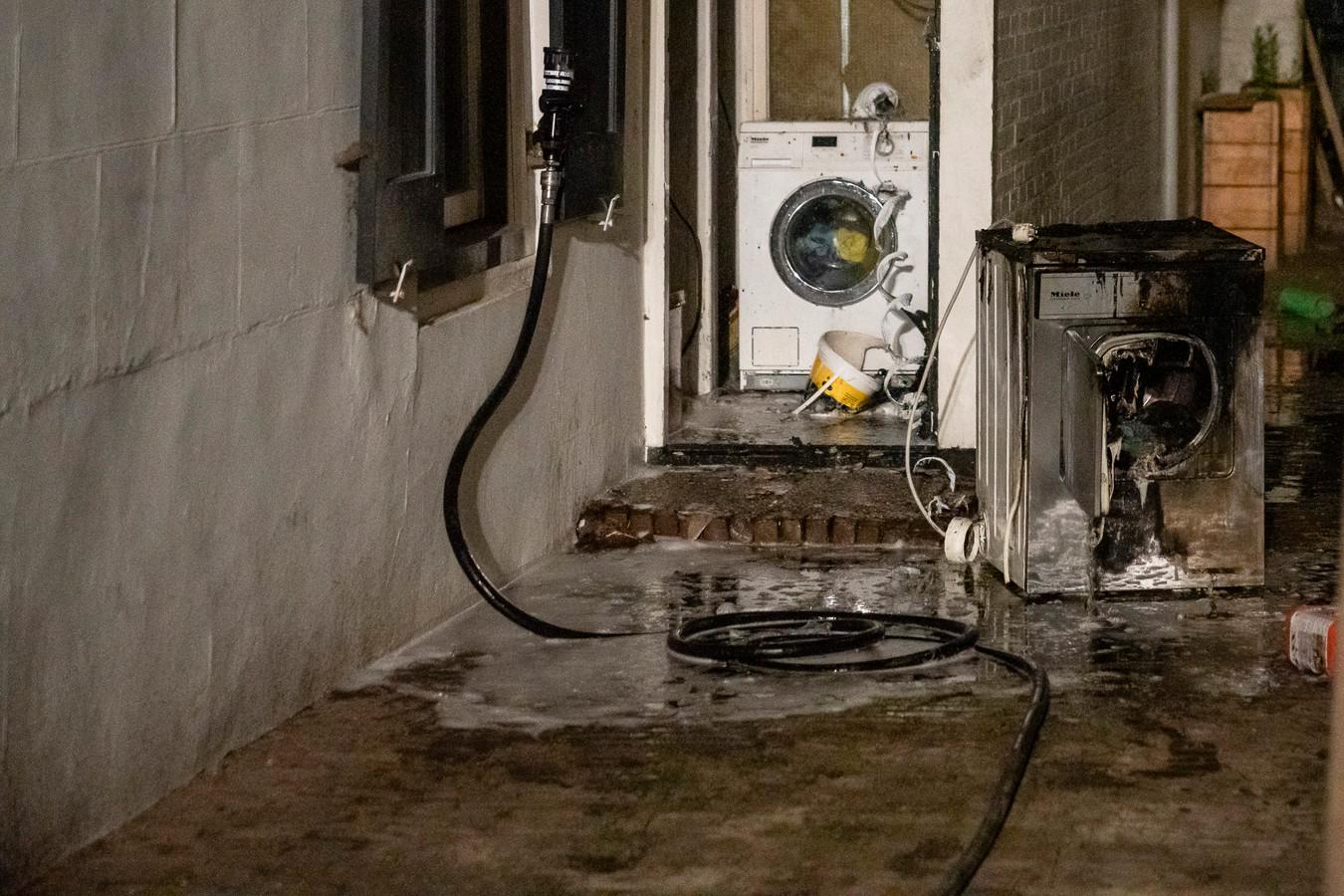 Brand in wasdroger zorgt voor veel rookschade bij Oisterwijks restaurant.