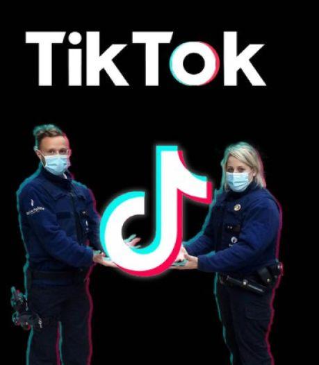 La police débarque sur TikTok