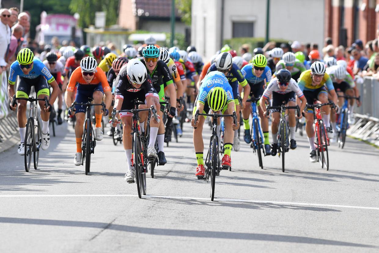 Een jeugdwedstrijd in Vlaanderen. Beeld GEERT TRESIGNIE