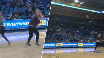 VIDEO. Nicole wordt uit publiek geplukt voor 'onmogelijke' uitdaging. Ze slaagt en wint auto