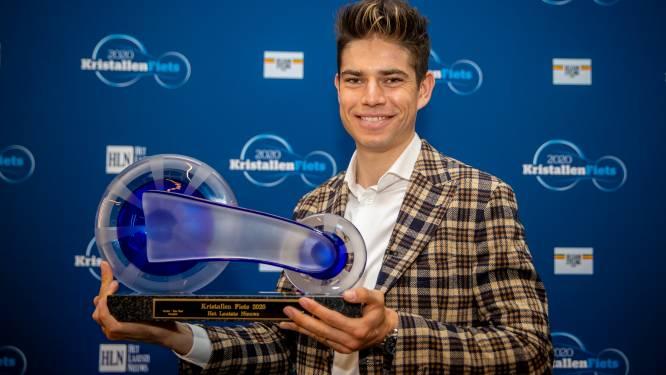 Zijn wonderjaar bekroond: Wout van Aert wint eerste Kristallen Fiets