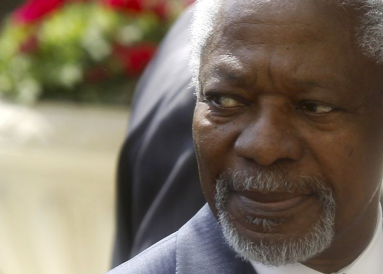 Kofi Annan Beeld reuters