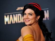 Mandalorian-actrice Gina Carano ontslagen na uitlatingen over joden