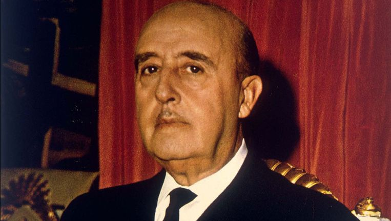 Dictator Franco. Beeld PHOTO_NEWS
