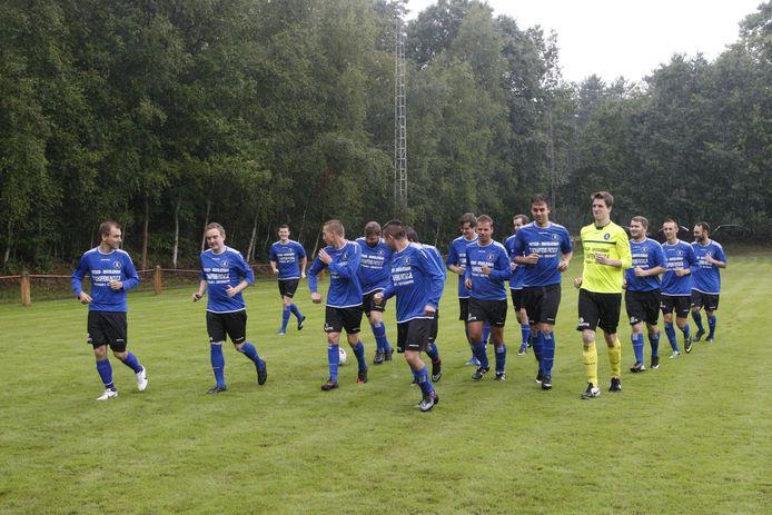 Het enthousiasme was groot op de allereerste training van het nieuwe Sparta Schaffen.
