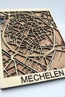 De 'city map' van Wood'n van Mechelen.
