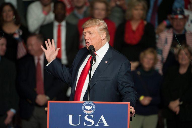 President-elect Donald Trump.  Beeld EPA