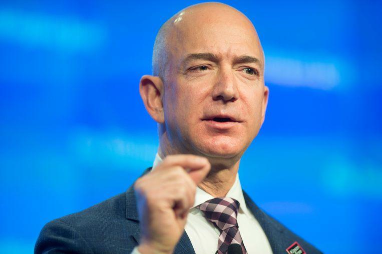 Amazon-topman Jeff Bezos begon een onderzoek naar wie zijn sms'jes heeft gelekt naar de Amerikaanse roddelsite National Enquirer. Beeld EPA