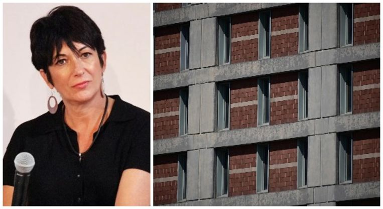 Ghislaine Maxwell zit vast in het Metropolitan Detention Center te New York.