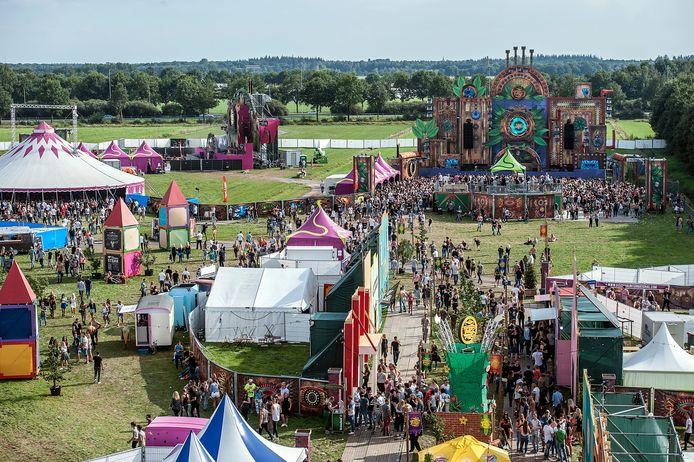 Een eerdere editie van Dancefestival Dream Village.