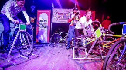 VIDEO. 'Bal Pedal' in Gentse Vooruit: Schlagermuziek, bier en wielrennen