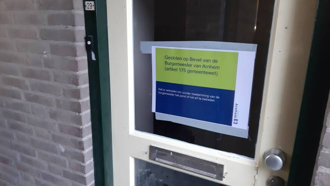 Burgemeester Arnhem laat woning sluiten na vuurwerkexplosie