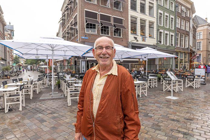 Theo Runhaar van Koninklijke Horeca Nederland Regio Zwolle merkte dat gasten in de horeca dankbaarheid toonden.