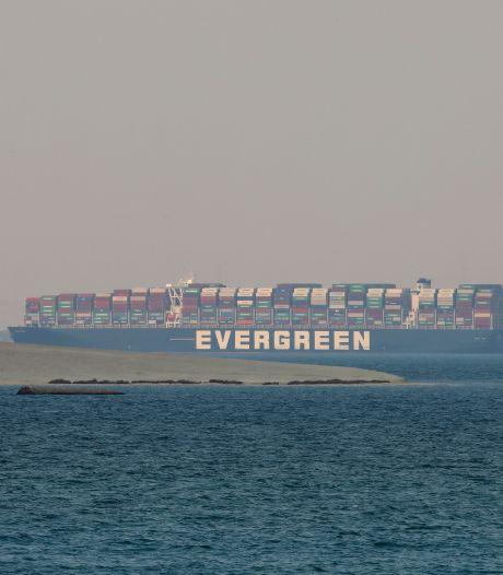 Rotterdam pakt z'n procentjes mee in het juridisch getouwtrek rond het blokkeer-schip Ever Given